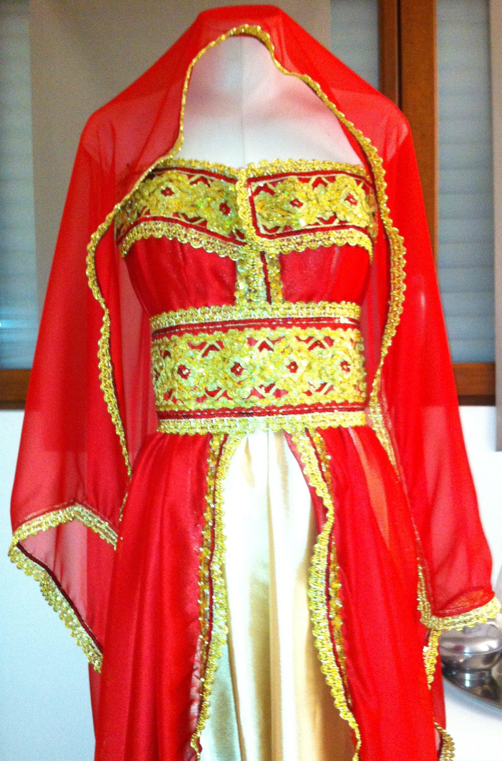 robe moderne kabyle 2012